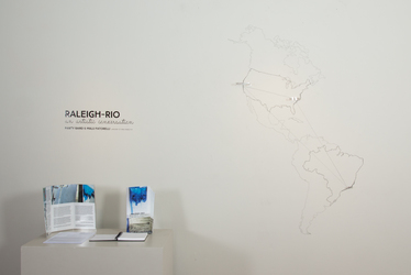 Marty Baird RALEIGH-RIO: An Artistic Conversation Artspace, Raleigh, North Carolina, USA