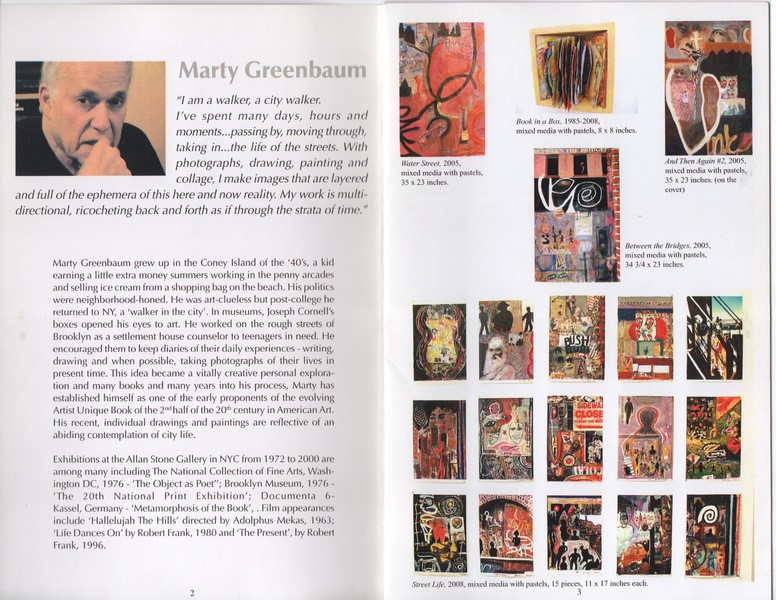 Marty Greenbaum Selected Reviews & Commentary