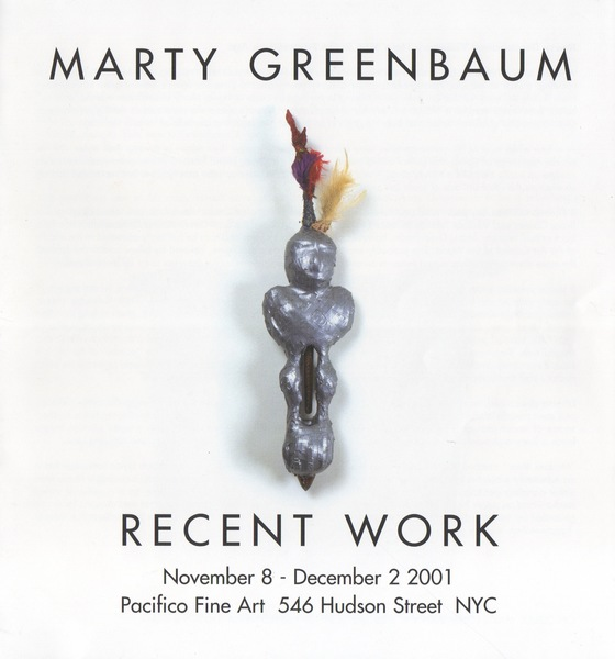 Marty Greenbaum Selected Reviews & Commentary Pacifico Fine Art, NYC