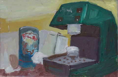 The Kitchen Paintings 11. Barista