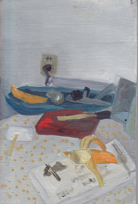 The Kitchen Paintings 07. See's vs. Bananas