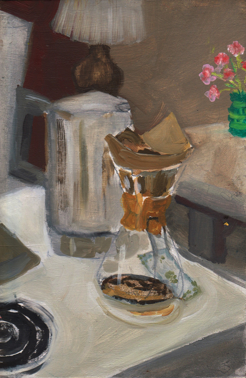 The Kitchen Paintings 20. Chemex