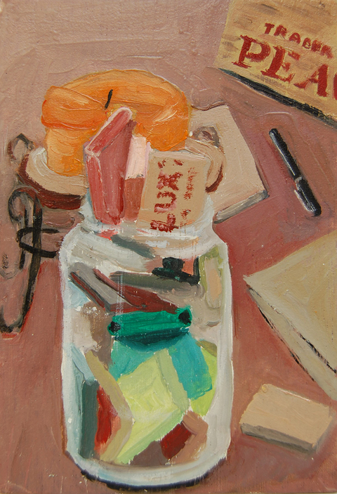 The Kitchen Paintings 47. Hotel Soap