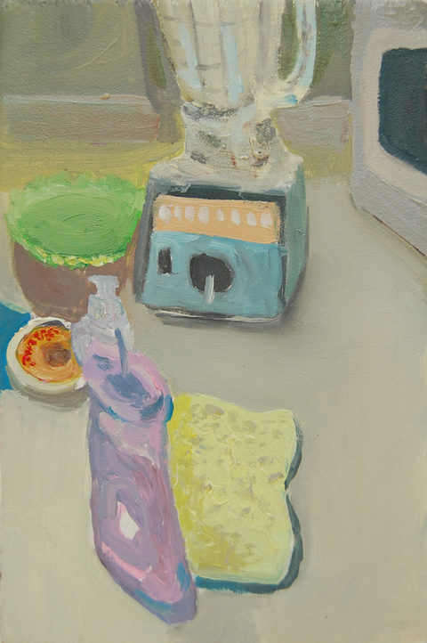 The Kitchen Paintings, 2013 48. sponge