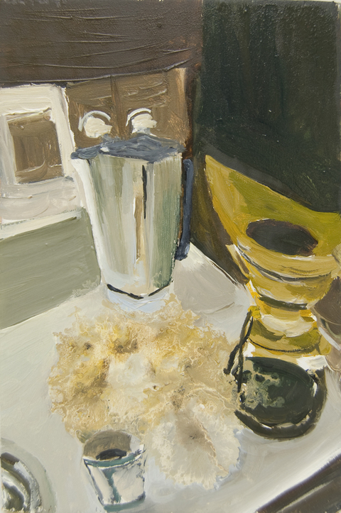 The Kitchen Paintings 51. Spill