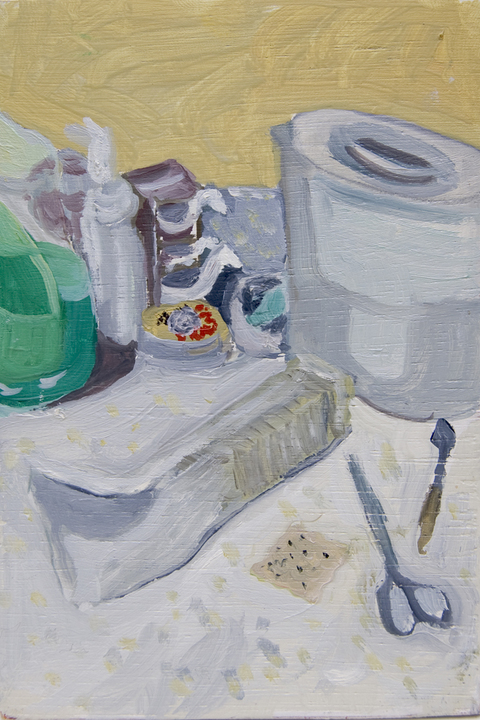 The Kitchen Paintings 02. Saltines