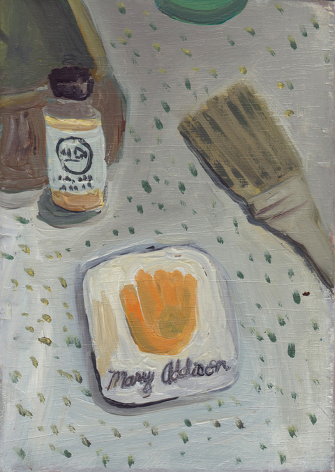 The Kitchen Paintings 27. Gumholder