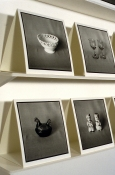 Mary Ann Becker Photographic Objects silver gelatin prints and shelving