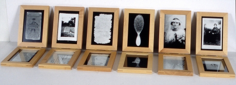 Mary Ann Becker Photographic Objects silver gelatin prints and frames
