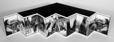Mary Ann Becker Photographic Objects silver gelatin prints and folded paper