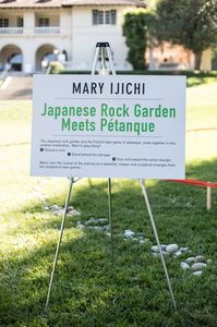 mary ijichi Commissions Granite and river rocks on grass