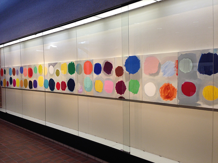 B-SIDE | Galeria, University Center, Michigan | 2015 B-SIDE installation, DELTA COLLEGE