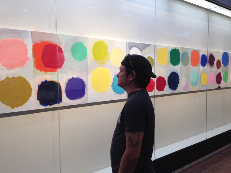 B-SIDE | Galeria, University Center, Michigan | 2015 B-SIDE installation