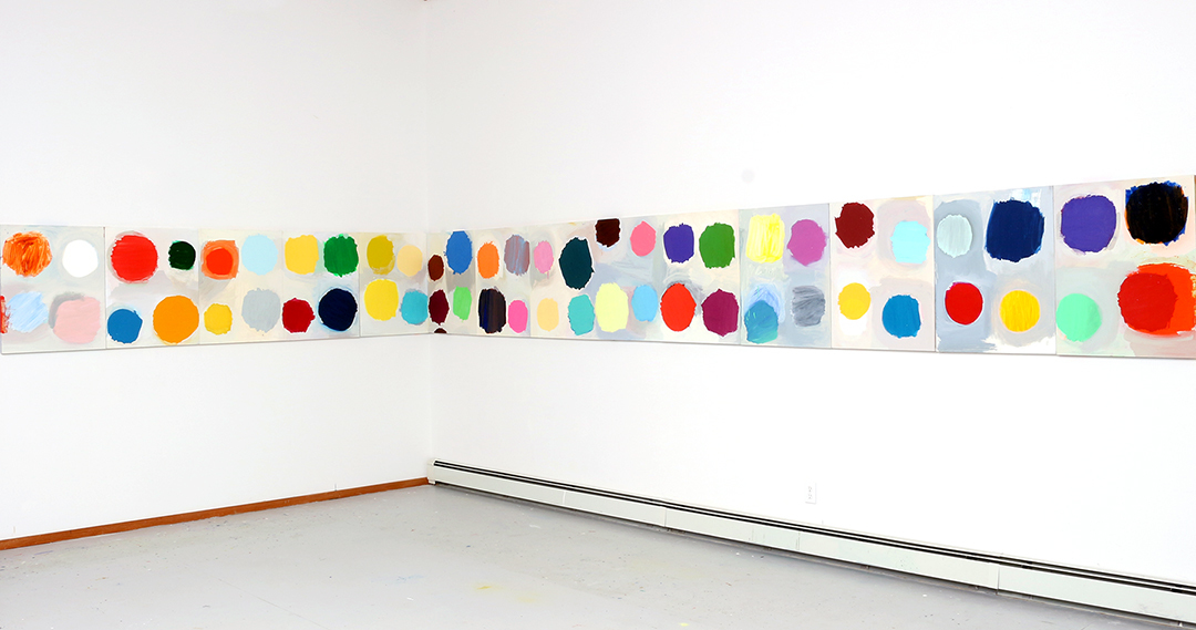 B-SIDE | Galeria, University Center, Michigan | 2015 oil on panel, each panel 30 x 24 inches