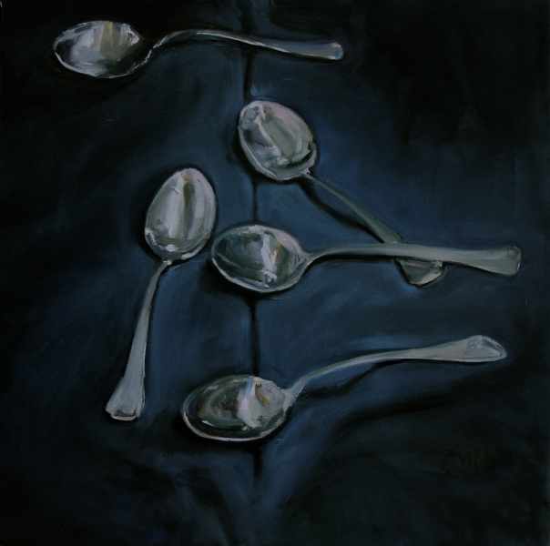 Paintings       Spoons  -  Sold