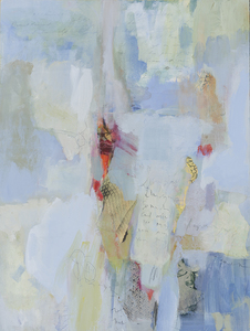 Mary Scurlock Dearest Margaret - Quirk Gallery Mixed Media on Panel