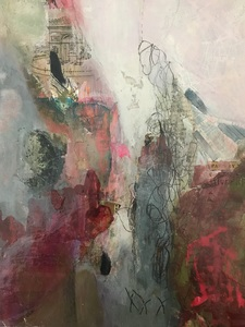 Mary Scurlock New Work Mixed Media on Panel