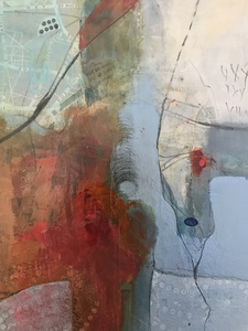 Mary Scurlock Paintings 2017-18 Mixed Media on Panel