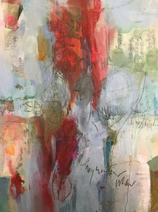 Mary Scurlock New Paintings  Mixed Media on Panel