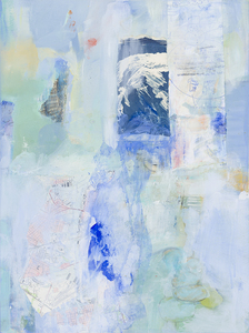 Mary Scurlock Retrieving the I 2018 Mixed  Media on Panel