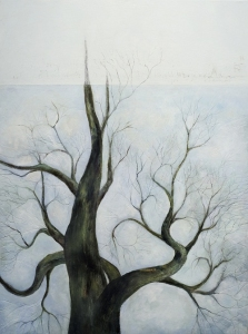 Mary Scurlock  Paintings 2009-2010 oil, graphite, and wax on panel