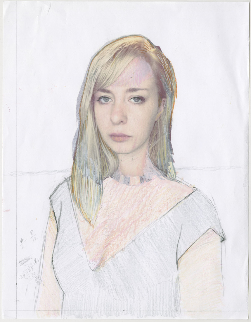 Portrait Works on Paper Hannah Lodwick