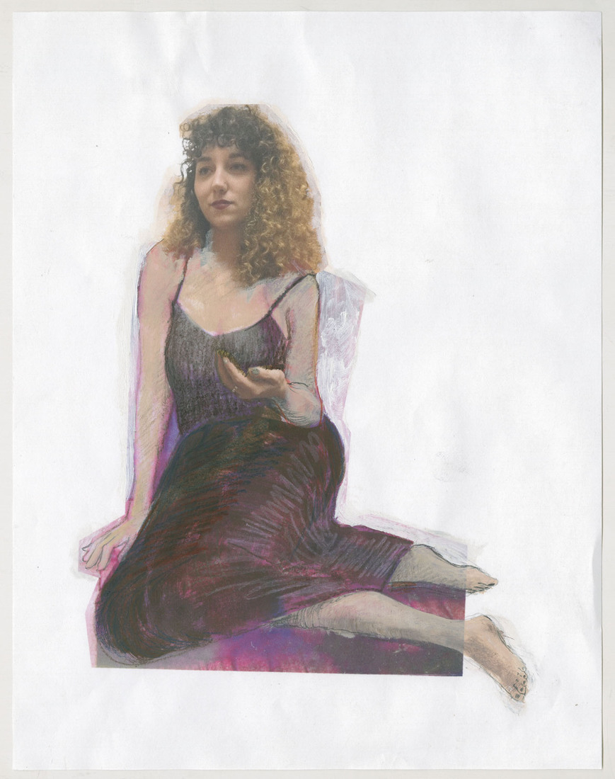Portrait Works on Paper Kate Messinger in Summer