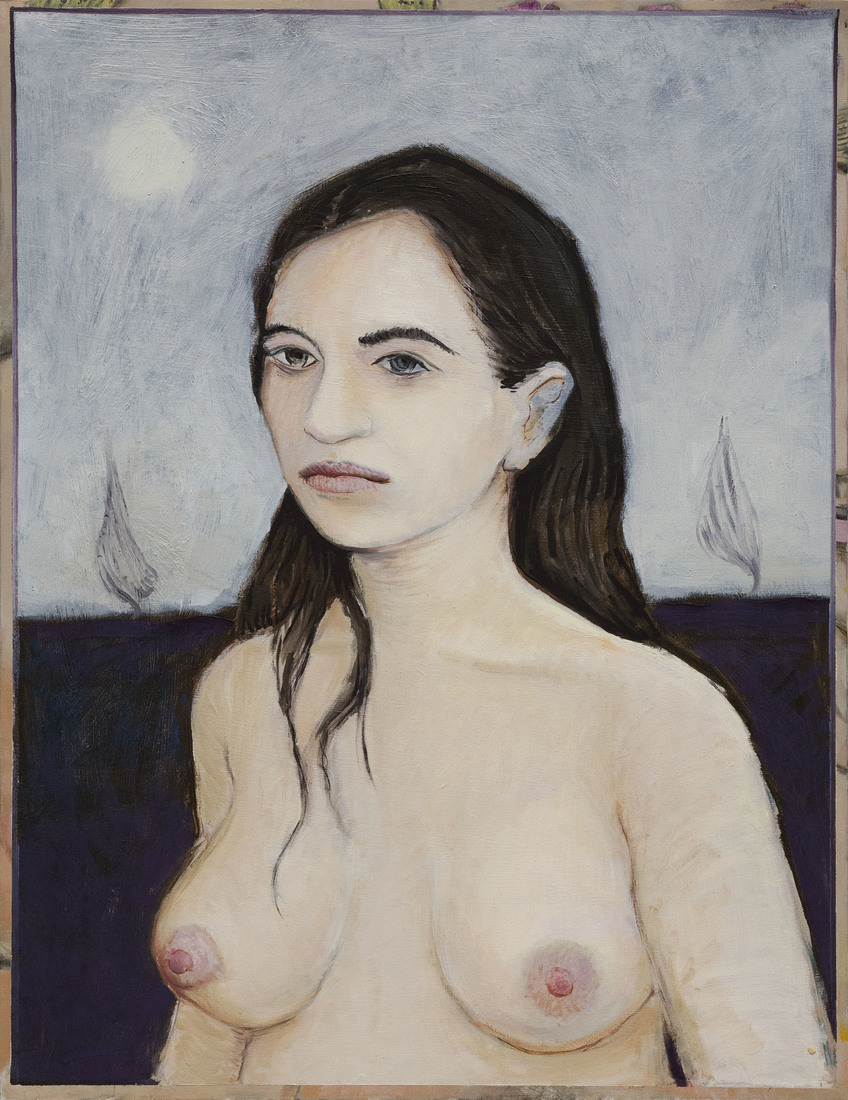 Paintings Woman with Dark Hair