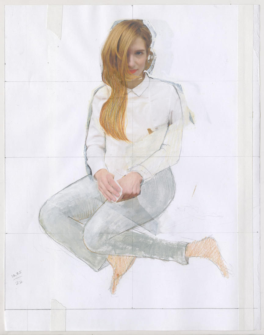 Portrait Works on Paper Deanna Havas
