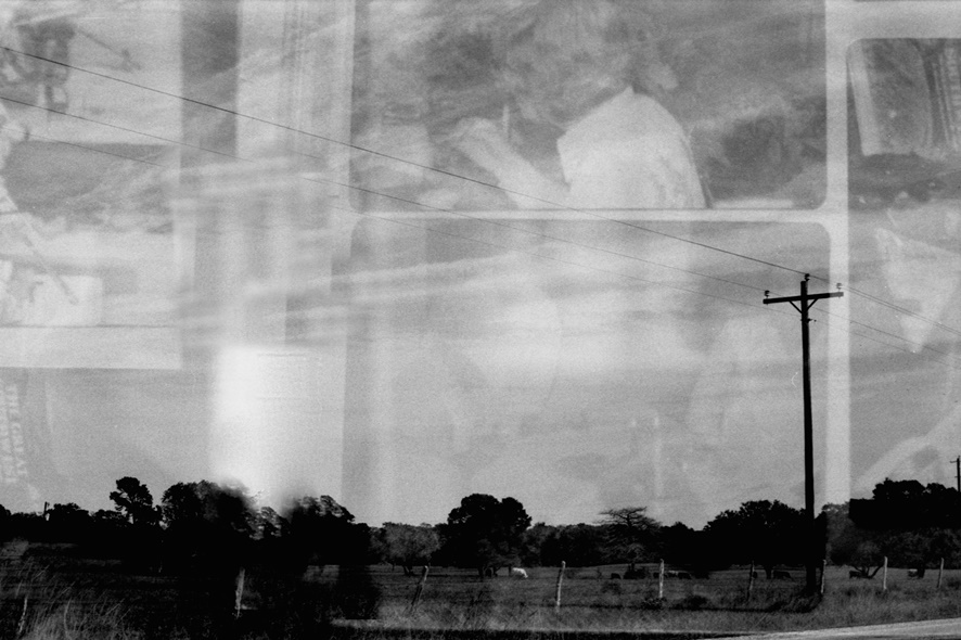 Margaret Ann Withers :: Curious Landscapes Time Redeemed In camera black and white film manipulation printed on Hahnemuhle William Turner paper