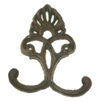MAXWELL'S 9.13.34 Cast Iron Hooks, Hardware & Brass 5 avail.