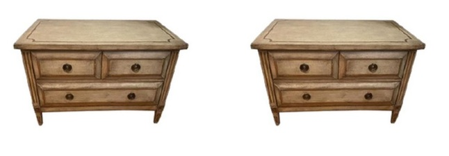 MAXWELL'S 9.13.34 Furniture 1 pair avail.
