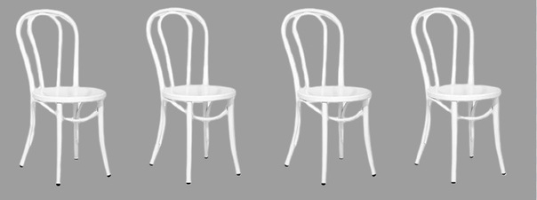 MAXWELL'S 9.13.34 Furniture 1 set of 4 available