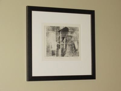 M-B HOME  -  Style Source For The Well Designed Home ART  Aquatint on paper