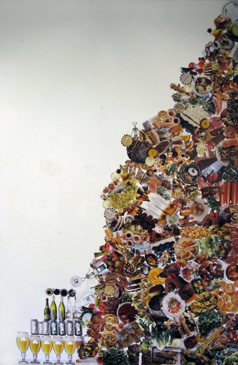 MEAGHAN CARPENTER Wall Collage Paper