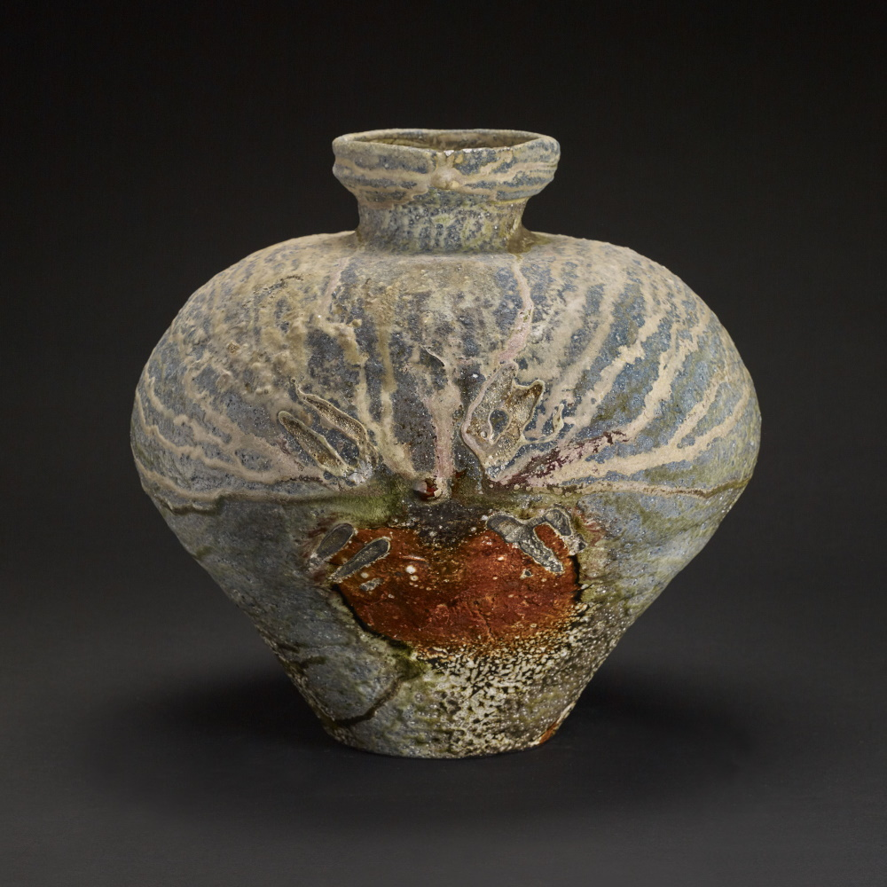 Large Forms Textured Tsubo