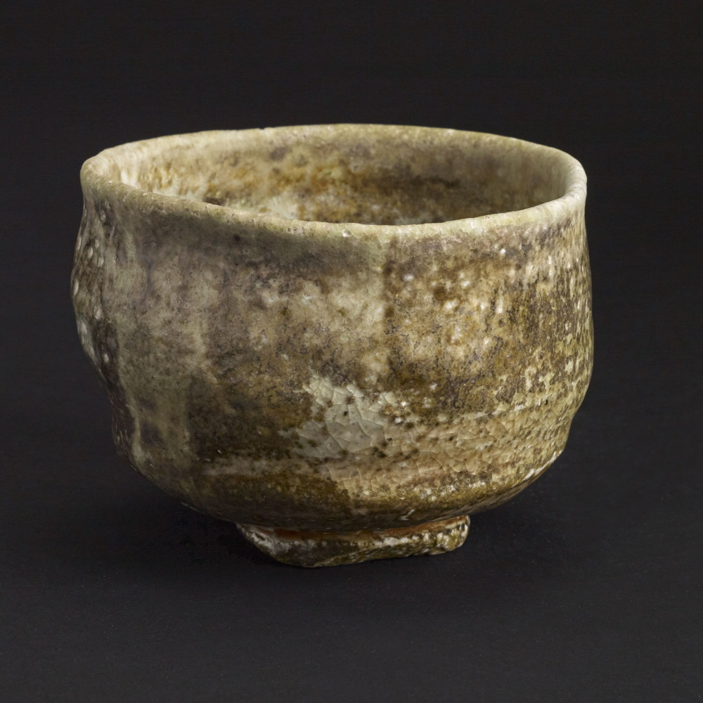 Chawan Green and White Chawan
