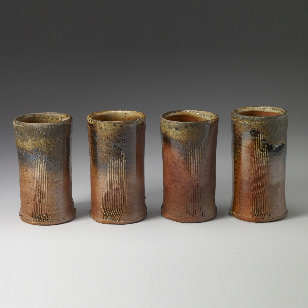 Cups and Mugs Family of Four Tumblers