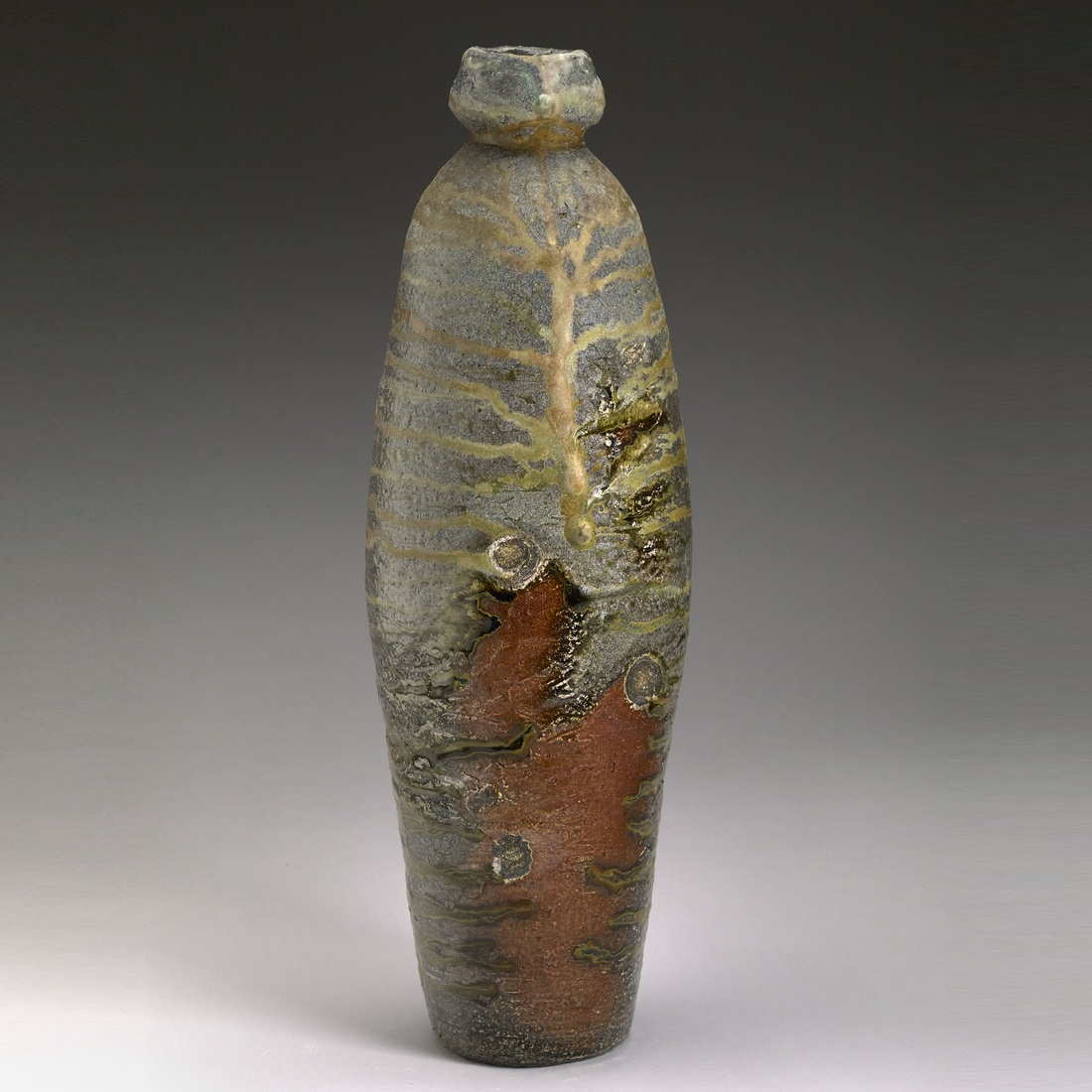 Large Forms Tall Textured Bottle