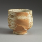 Cups and Mugs porcelain, shino liner, natural ash glaze