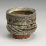 Cups and Mugs Stoneware, shino, natural ash glaze