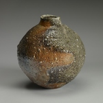 Vases and Bottles Stoneware, feldspar inclusions, natural ash glaze