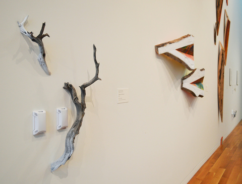 Melinda Rosenberg Installation at Columbus Museum of Art