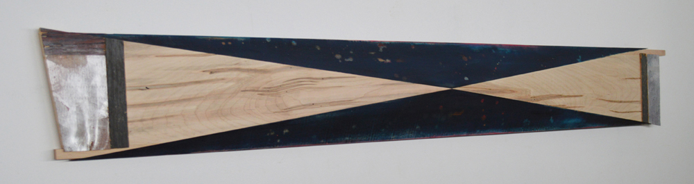 Melinda Rosenberg Inverse paint on pine and ambrosia maple