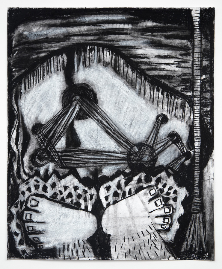 Charcoal Drawings (2016-18) Peddler
