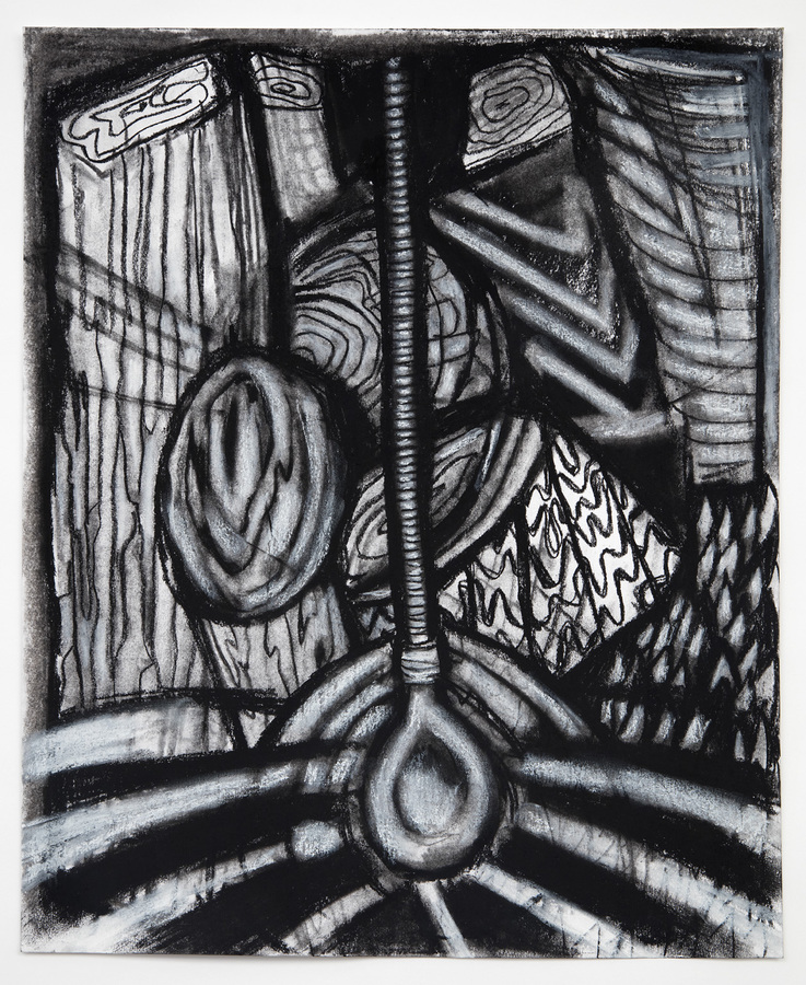Charcoal Drawings (2016-18) Illumination