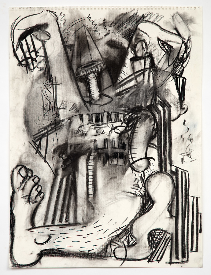 Charcoal Drawings (2016-18) Crash Boom Hiss
