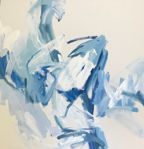 2019 Paintings Blue Heaven