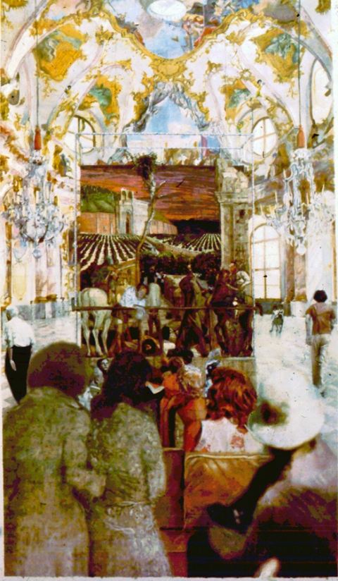 Before 1985 Project for the Kaisersaal