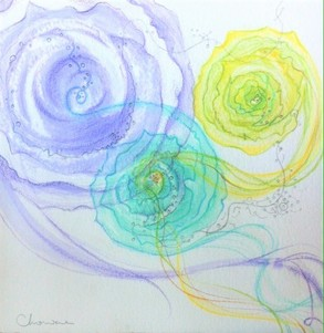 Miae Cho 'Small Arts' Water Color